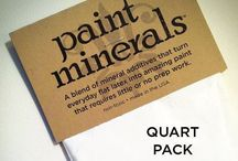 """paint minerals™ / paint minerals™ turn everyday acrylic paint into lasting, durable, incredible paint that achieves classic """"no prep"""" designer-style finishes like chalk paint, clay paint, gesso, impasto, gouache and more."""