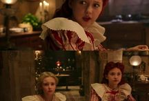 Young red queen - costume recreation