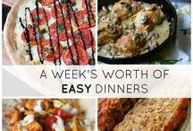 Quick & Easy Meal Recipes / Your last minute dinner recipe ideas all in one place!