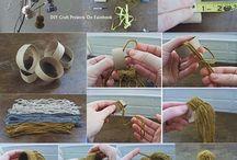 handmade deco / home deco ideas