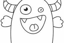 disegni per maglie mostruose