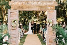 Outdoor weddings / Unique or creative ideas for an outside wedding.