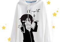 t-shirt anime