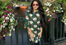 My Floral uploads / When I am not posing with flowers. I am clicking them