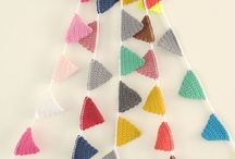 Crochet garlands & bunting