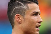 football hairstyle