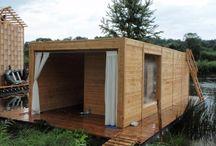 The Floating Sauna