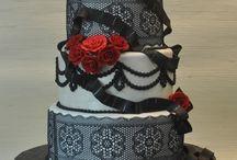 Hollywood glamour cake