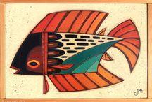 Maleri fisk
