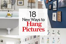 New ways to hang pictures