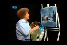 bob ross / by patricia downing