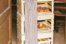 cajas para verdura y fruta
