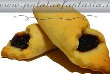 Dolci di Patate / Questi biscotti sono l'ideale da servire con il tè ma anche per iniziare una giornata con il sorriso accompagnato con il caffè!!! Per la ricetta http://www.patataefantasia.it/biscotti-di-patate/  Provate e fatemi sapere….