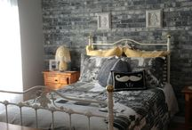 Brick Wallpaper / Thinking of brick wallpaper for your space?  See mine in action from real customers!