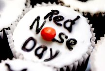 Fundraising ideas-red nose day contest / we will bake cakes and sell them to raise money and have a dancing competition-as the school uniform is already red we can have an own/silly clothes day,and as always lots of crafting and red messy play eg jelly and jam to have fun with