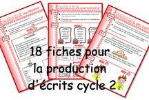 production d'ecrit