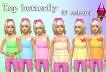 My CC for Sims / Todas mis creaciones para los Sims <3