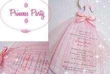 Idées filles / Invitation anniversaire