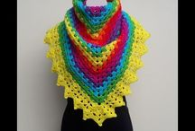 Crochet Ponchos and Shawl Crochet tutorials and written patterns / Find all my video tutorials an written patterns for ponchos and shawls on this board.