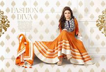 DESIGNER ANARKALI SUITS COLLECTION / A huge sparkling collection of Indian ethnic wear in our attention-grabbing online showroom whose variety is growing every month. online shopping store for Saree, Salwar Suits, Lehengas, Jewellery, Kids Wear at best price.