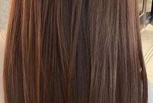 brown caramel hair
