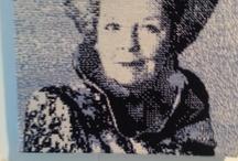 Beatrix portretten / portretten van Koningin Beatrix