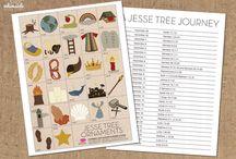 Christmas Jesse Tree