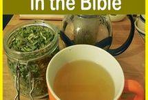 herbals teas, brews