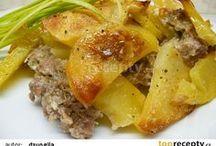 pecene zemiaky mlet mesom