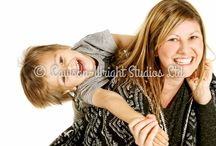 Family Shoots / Pictures that we have taken in our studio of families