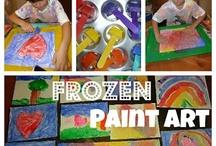 Paint/Chalk Activities