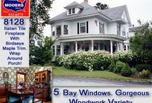 26 Columbia Street Houlton Maine 04730 / Grand 1912 Home In Houlton Maine To Tour, Ooh And Ahh. Has The Patterned Hardwood Two Tone Floors, The Tin Ceilings, Pantry Kitchen Slate Original Sink, Fireplace. Watch Video. Ask Quesitons. $105,000 Asking Price. info@mooersrealty.com 207.532.6573