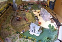 Laurence Model Train Layout / by Model Trains