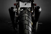 Cafe racer, motorcycles