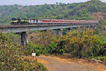 Konkan Railway / The Beautiful Konkan Railway