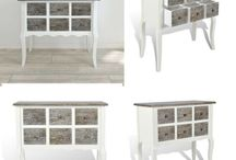 Wooden Console Table Cabinet