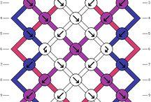 pulseras de hilo encerado patrones