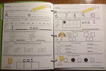 Kindergarten/First grade / by Monique Santos