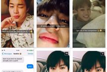 Jungkook Texting you