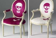 Skull furniture and accessories