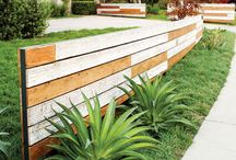 Plank för objudna gäster / Plank och staket