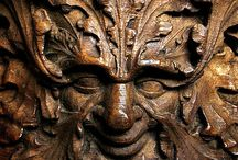 Green Man Carvings