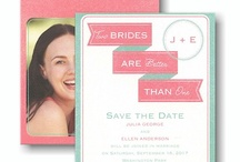 LGBT Invitations and Ideas / Invitations and great ideas for same-sex couples