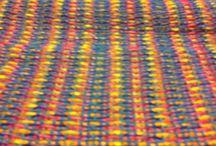 Handwoven textile / Plain weave Warp Cotton