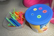 2 - 3 year olds: sorting activities
