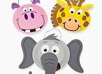 Créations animalières masques