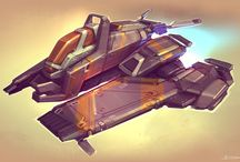 Aircrafts & Space Ships