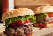 Burger Recipes / Take your burger game up a notch with these tasty recipes! Seasoning meat, experimenting with bold toppers and making DIY condiments leads to mouthwatering burgers, perfect for backyard cookouts or weeknight dinners.
