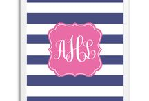 Free Printable Monograms / Free Printable Monograms from Chicfetti.com - make your own monogram with our free monogram maker
