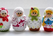 Matryoshka / russian dolls